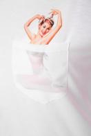 футболка из вискозы с принтом. Pin up Girl-2 футболка Boy-2. Цвет: принт цена
