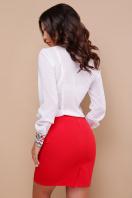 белая блузка с цветами. Вышиванка блуза Ярослава д/р. Цвет: принт в интернет-магазине