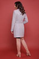бирюзовое пальто с поясом. пальто П-308. Цвет: 1214 купить