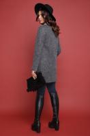 красное пальто без воротника. пальто П-337ш. Цвет: 1510-серый цена