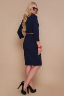 красное платье с пуговицами. платье Элария-Б д/р. Цвет: синий цена