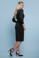 черное платье с молнией. платье Лилита д/р. Цвет: черный цена