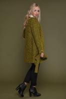 женское пальто цвета электрик. пальто П-337. Цвет: 1222 цена