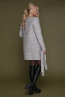женское пальто цвета электрик. пальто П-337. Цвет: 1219-св.серый цена