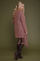 женское пальто цвета электрик. пальто П-337. Цвет: 1208-розовый цена