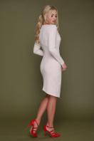 красное платье с запахом. платье Виолетта д/р. Цвет: св. бежевый цена