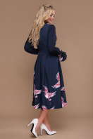синее платье с пышной юбкой. Аисты платье Ангелина д/р. Цвет: синий купить