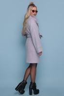клетчатое пальто прямого кроя. пальто П-300-90. Цвет: 1209-розовый цена