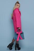 шерстяное пальто в клетку. пальто П-300-90. Цвет: 1210-малина цена