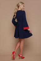 синее платье с кружевом. платье Нита д/р. Цвет: синий купить