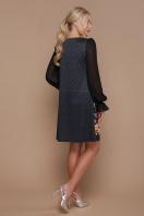 трикотажное платье с шифоновыми рукавами. Венера платье Афродита д/р. Цвет: принт купить