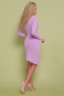 красное платье с запахом. платье Виолетта д/р. Цвет: лавандовый цена