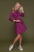замшевое платье цвета фуксии. платье Дейзи д/р. Цвет: фуксия купить