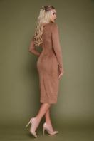 платье миди бордового цвета. платье Таяна д/р. Цвет: бежевый цена