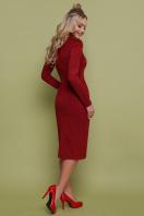серое замшевое платье. платье Таяна д/р. Цвет: бордовый купить