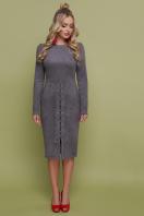 серое замшевое платье. платье Таяна д/р. Цвет: серый купить