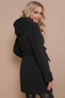 черное зимнее пальто. пальто П-3 кз. Цвет: черный купить