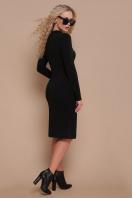 бордовое платье с длинным рукавом. платье Альбина д/р. Цвет: черный цена
