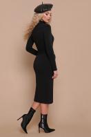 черное трикотажное платье. платье Виталина д/р. Цвет: черный цена