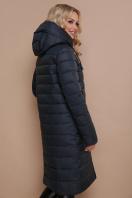 длинная серая куртка. Куртка 18-32. Цвет: бутылочный купить
