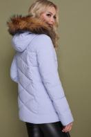 короткая куртка цвета электрик. Куртка 18-129. Цвет: сирень купить