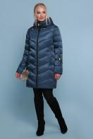 блестящая куртка цвета хаки. Куртка 18-71. Цвет: волна купить