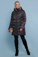 блестящая куртка цвета хаки. Куртка 18-71. Цвет: черный купить