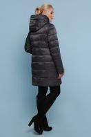блестящая куртка цвета хаки. Куртка 18-71. Цвет: черный цена