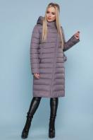 длинная серая куртка. Куртка 18-32. Цвет: серый купить