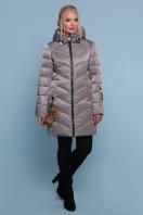 блестящая куртка цвета хаки. Куртка 18-71. Цвет: серый купить