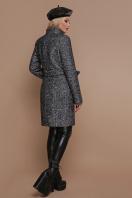 розовое пальто на пуговицах. пальто П-332 з. Цвет: 1202-серый купить