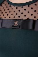 зеленая кофта с длинными рукавами. кофта Хелена д/р. Цвет: изумруд в интернет-магазине
