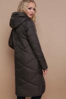 изумрудная зимняя куртка. Куртка 899. Цвет: хаки купить