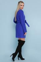 женское пальто цвета электрик. пальто П-337. Цвет: 1217-ультрамарин цена