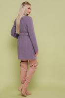 женское пальто цвета электрик. пальто П-337. Цвет: сирень цена