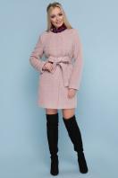 женское пальто цвета электрик. пальто П-337. Цвет: 1605-розовый купить