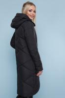 изумрудная зимняя куртка. Куртка 899. Цвет: черный купить