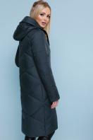 изумрудная зимняя куртка. Куртка 899. Цвет: изумруд купить