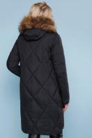 черная куртка с меховой опушкой. Куртка 812. Цвет: черный цена