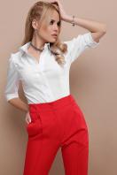 . блуза Камила к/р. Цвет: белый недорого