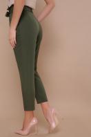 брюки 7/8 цвета хаки. брюки Челси. Цвет: хаки цена
