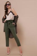 брюки 7/8 цвета хаки. брюки Челси. Цвет: хаки в Украине