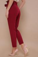 брюки 7/8 цвета хаки. брюки Челси. Цвет: бордо цена
