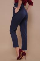 брюки 7/8 цвета хаки. брюки Челси. Цвет: синий цена