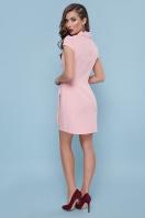голубое платье с коротким рукавом. платье Полина к/р. Цвет: персик цена
