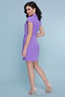 голубое платье с коротким рукавом. платье Полина к/р. Цвет: сирень цена