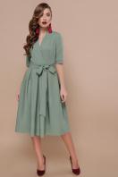 платье цвета хаки с коротким рукавом. платье Ангелина к/р. Цвет: св.хаки купить