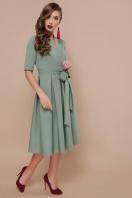 платье цвета хаки с коротким рукавом. платье Ангелина к/р. Цвет: св.хаки цена