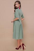 платье цвета хаки с коротким рукавом. платье Ангелина к/р. Цвет: св.хаки в интернет-магазине