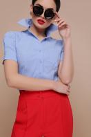 . блуза Эльза к/р. Цвет: голубой цена